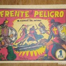 Giornalini: FRENTE AL PELIGRO. EL GUERRERO DEL ANTIFAZ. Nº 5. ORIGINAL.. Lote 224381716