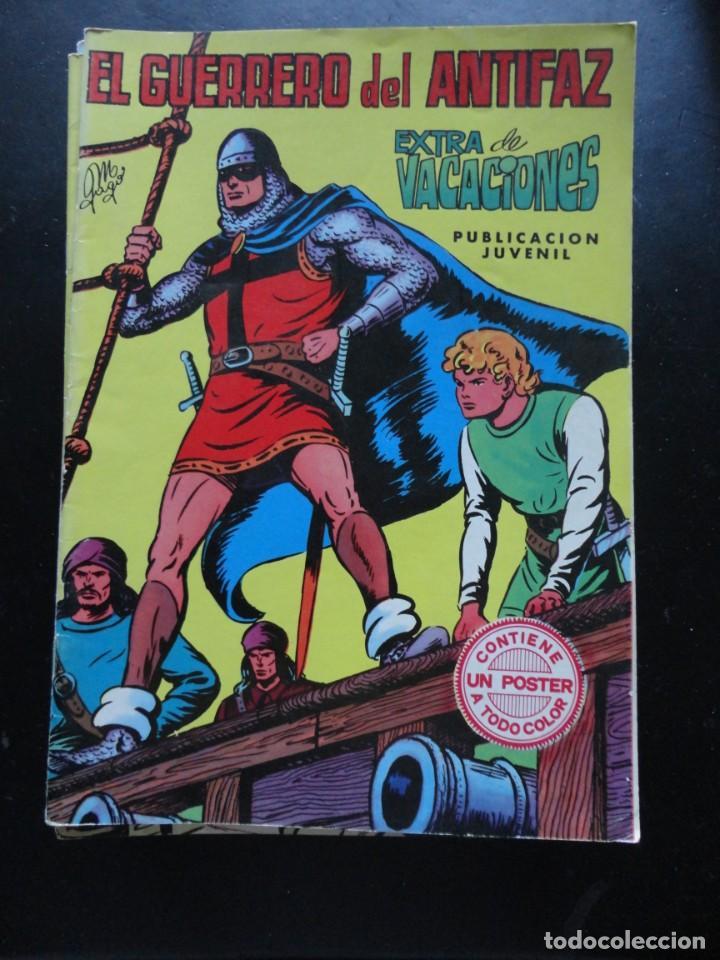 EL GUERRERO DEL ANTIFAZ- EXTRA VACACIONES (Tebeos y Comics - Valenciana - Guerrero del Antifaz)
