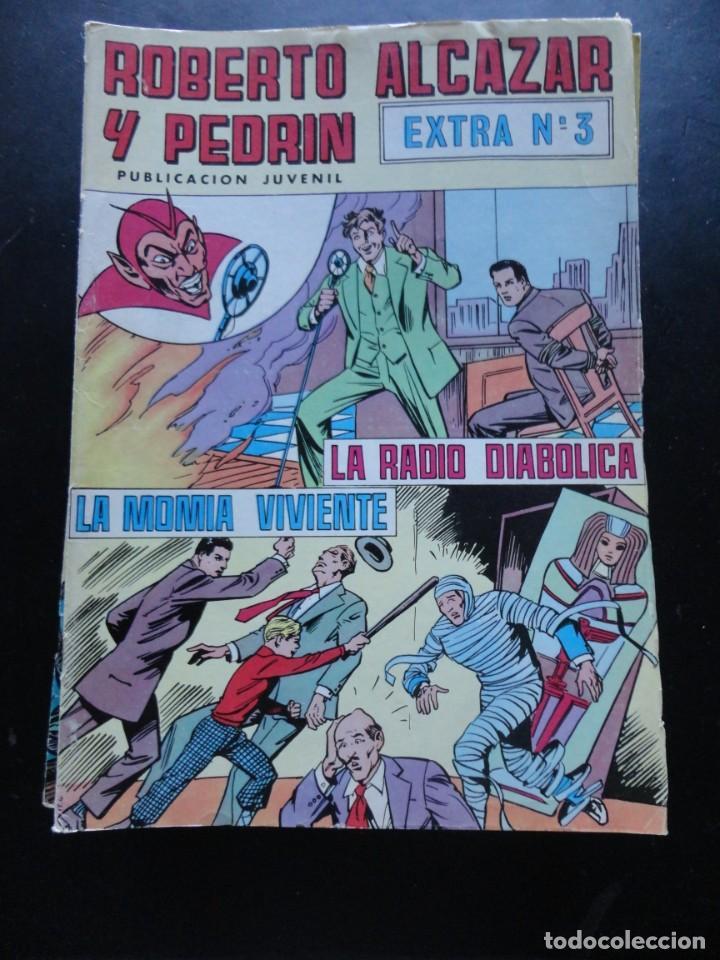 ROBERTO ALCAZAR Y PEDRÍN - EXTRA Nº-3 (Tebeos y Comics - Valenciana - Roberto Alcázar y Pedrín)