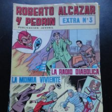 Tebeos: ROBERTO ALCAZAR Y PEDRÍN - EXTRA Nº-3. Lote 224423675