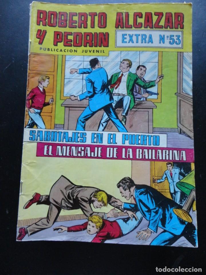 ROBERTO ALCAZAR Y PEDRÍN - EXTRA Nº-53 (Tebeos y Comics - Valenciana - Roberto Alcázar y Pedrín)