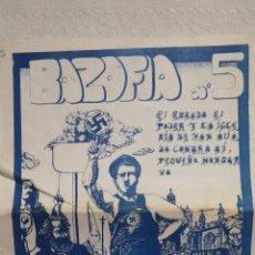 Tebeos: Nº 5 DE BAZOFIA [DE 8] PRIMERA · CUADERNO DE HISTORIETA 1976 ¿? CUADERNO · GRAPA 24 X 17 CM ·24 PP. Lote 224455356