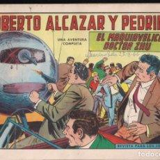 Tebeos: ROBERTO ALCAZAR Y PEDRIN Nº 728: EL MAQUIAVELICO DOCTOR ZHU. Lote 224494450