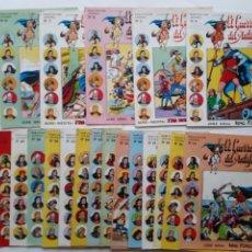 Livros de Banda Desenhada: EL GUERRERO DEL ANTIFAZ LOTE 19 NUMEROS 4, 5, 6, 7, 8, 14, 16, 18, 19, 20, 21, 22, 23, 24, 25, 26,. Lote 224607575