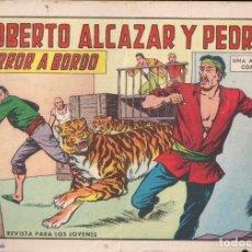 Tebeos: ROBERTO ALCAZAR Y PEDRIN Nº 737: TERROR A BORDO. Lote 224623068