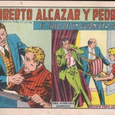Tebeos: ROBERTO ALCAZAR Y PEDRIN Nº 739: EL CASO DE UN GUIONISTA DE CINE. Lote 224623347