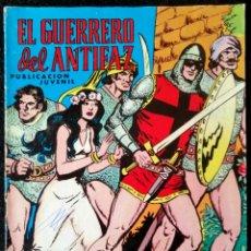 BDs: EL GUERRERO DEL ANTIFAZ Nº 17 - LOS CUATRO TITANES - VALENCIANA 1972. Lote 224638526