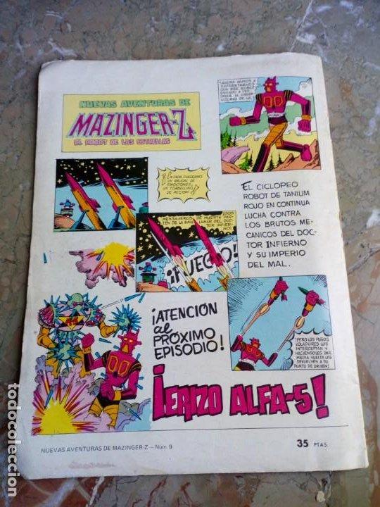 Tebeos: Mazinguer-Z Nº 9 VALENCIANA (contiene recortable) - Foto 2 - 224639071