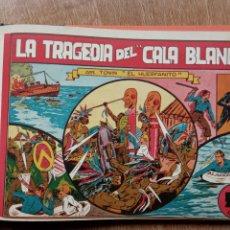 Tebeos: TONIN EL HUERFANITO COMPLETA 1 AL 8 ORIGINAL DE 0,50 CÉNTIMOS, 1944 - COMO NUEVA, MANUEL GAGO. Lote 224669992