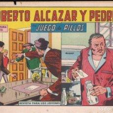 Tebeos: ROBERTO ALCAZAR Y PEDRIN Nº 751: JUEGO DE PILLOS. Lote 224714338