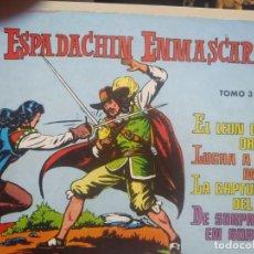 Tebeos: EL ESPADACHIN ENMASCARADO - TOMO 3 - ED. VALENCIANA - 1981. Lote 224795673