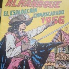 Tebeos: EL ESPADACHIN ENMASCARADO - ALMANAQUE 1956 - FACSIMIL. Lote 224795865
