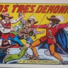 Tebeos: EL ESPADACHIN ENMASCARADO - Nº24 - SEGUNDA EDICION - ED. VALENCIANA. Lote 224798997