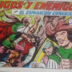 Tebeos: EL ESPADACHIN ENMASCARADO - Nº 39 - SEGUNDA EDICION - ED. VALENCIANA. Lote 224799438