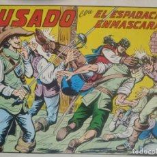Tebeos: EL ESPADACHIN ENMASCARADO - Nº 42 - SEGUNDA EDICION - ED. VALENCIANA. Lote 224799726