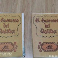 Tebeos: 2 TOMOS COMPLETOS EL GUERRERO DEL ANTIFAZ, EDITORIAL VALENCIA 1972, 20 COMIC CADA TOMO ESTÁN SUELTO. Lote 224881405