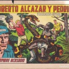 Tebeos: ROBERTO ALCAZAR Y PEDRIN Nº 782: EL HOMBRE ACOSADO. Lote 224897350