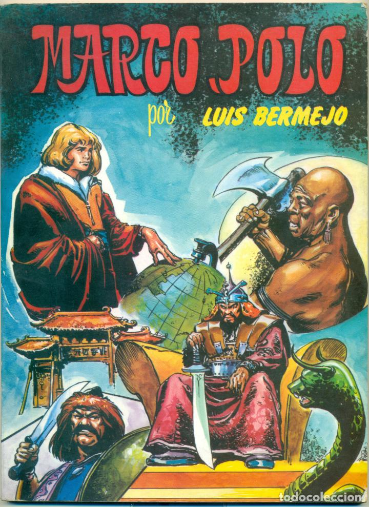 MARCO POLO DE EDITORIAL VALENCIANA DIBUJADA POR LUIS BERMEJO (Tebeos y Comics - Valenciana - Otros)