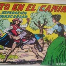 Tebeos: EL ESPADACHIN ENMASCARADO - Nº 61 - SEGUNDA EDICION - ED. VALENCIANA. Lote 224938861