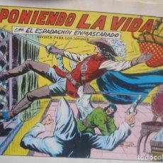 Tebeos: EL ESPADACHIN ENMASCARADO - Nº 73 - SEGUNDA EDICION - ED. VALENCIANA. Lote 224938895