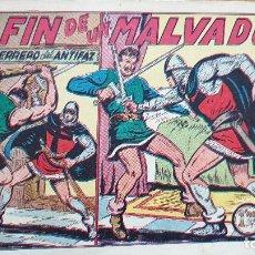 Tebeos: EL FIN DE UN MALVADO. Lote 224986897