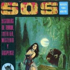 Tebeos: SOS-I ÉPOCA - Nº 7 -GRANDES ALBERTO MARCET-MANUEL GAGO-BLAS GALLEGO-1975-MUY DIFÍCIL-CASI BUENO-4021. Lote 225039558