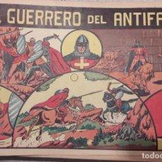 Tebeos: EL GUERRERO DEL ANTIFAZ. COLECCIÓN COMPLETA 668 TEBEOS. VALENCIANA (ORIGINALES) AÑO 1944. Lote 225181985