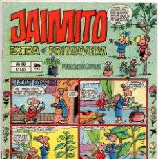 Tebeos: JAIMITO EXTRA PRIMAVERA (VALENCIANA 1975). Lote 225234025