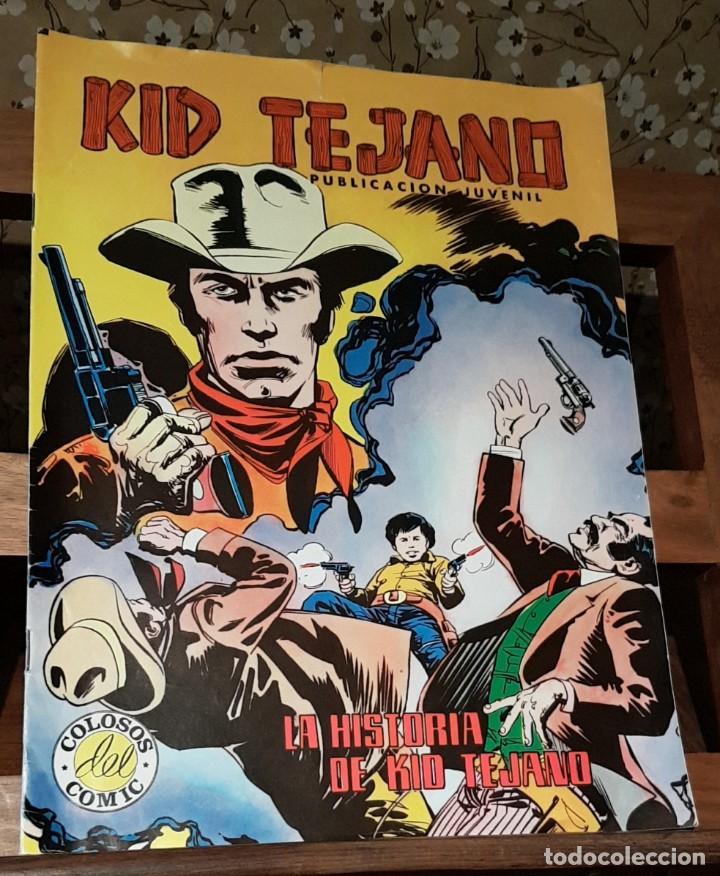 CÓMIC KID TEJANO Nº 23, COLOSOS DEL COMIC EDICIONES VALENCIANAS (Tebeos y Comics - Valenciana - Colosos del Comic)