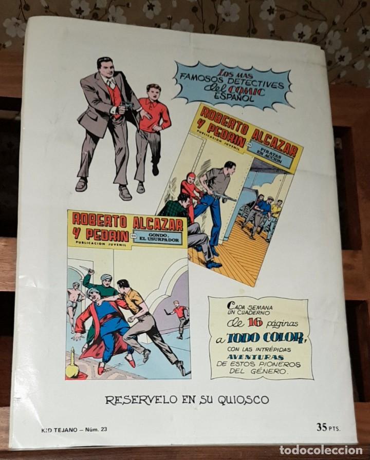 Tebeos: CÓMIC KID TEJANO Nº 23, COLOSOS DEL COMIC EDICIONES VALENCIANAS - Foto 2 - 225516180