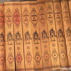 Livros de Banda Desenhada: 11 TOMOS - EL GUERRERO DEL ANTIFAZ. Lote 225544730