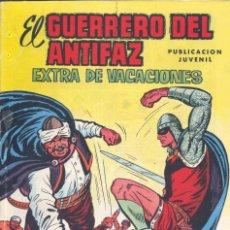 Tebeos: EL GUERRERO DEL ANTIFAZ. EXTRA DE VACACIONES (CONSERVA EL PÓSTER), VALENCIANA, 1974. Lote 225617725