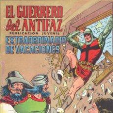 Tebeos: EL GUERRERO DEL ANTIFAZ. EXTRA DE VACACIONES, VALENCIANA, 1975. Lote 225618610