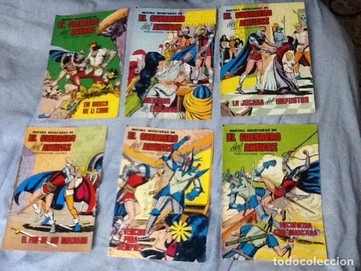 EL GUERRERO DEL ANTIFAZ-NUEVAS AVENTURAS-12 NÚMEROS SUELTOS (Tebeos y Comics - Valenciana - Guerrero del Antifaz)