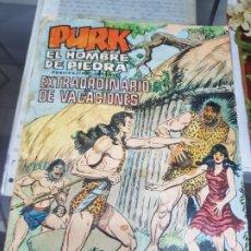 Tebeos: COMIC PURK EL HOMBRE DE PIEDRA SELECCIOM EDIVAL TEBEO JOVENES. Lote 225757825