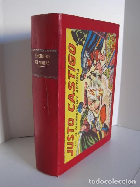 Tebeos: CÓMICS EL GUERRERO DEL ANTIFAZ. COLECCIÓN COMPLETA. ED. VALENCIANA. PUBLICACIÓN JUVENIL. 1972. - Foto 2 - 225759665