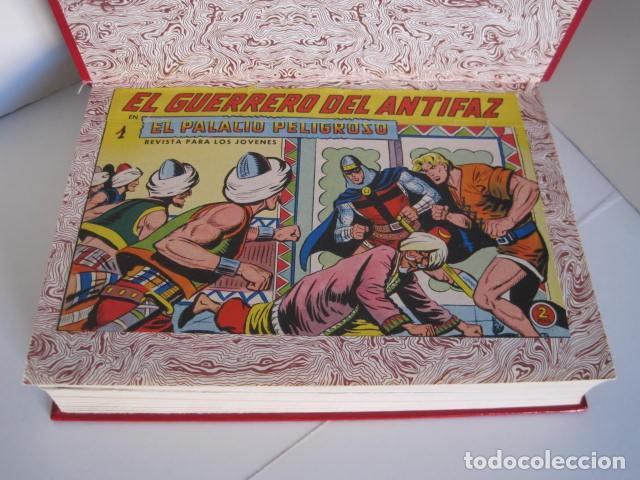 Tebeos: CÓMICS EL GUERRERO DEL ANTIFAZ. COLECCIÓN COMPLETA. ED. VALENCIANA. PUBLICACIÓN JUVENIL. 1972. - Foto 8 - 225759665