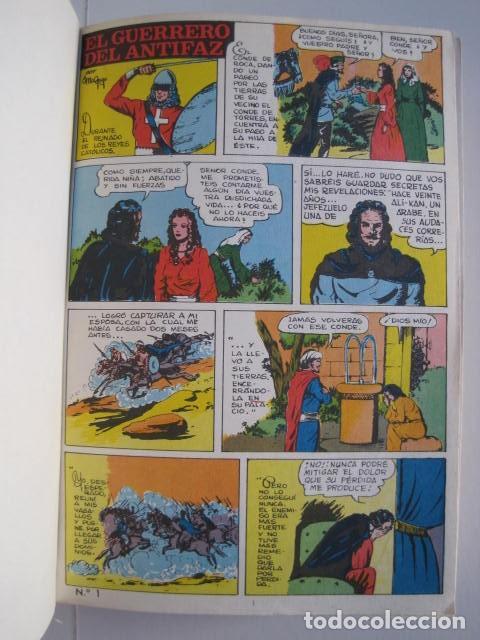 Tebeos: CÓMICS EL GUERRERO DEL ANTIFAZ. COLECCIÓN COMPLETA. ED. VALENCIANA. PUBLICACIÓN JUVENIL. 1972. - Foto 9 - 225759665