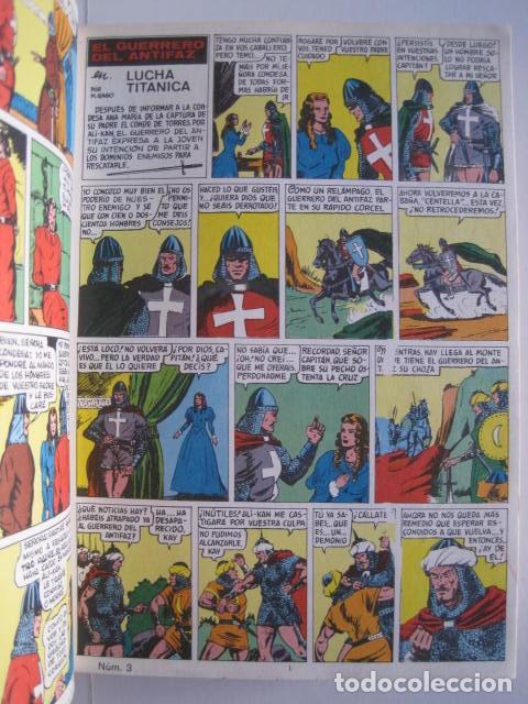 Tebeos: CÓMICS EL GUERRERO DEL ANTIFAZ. COLECCIÓN COMPLETA. ED. VALENCIANA. PUBLICACIÓN JUVENIL. 1972. - Foto 11 - 225759665