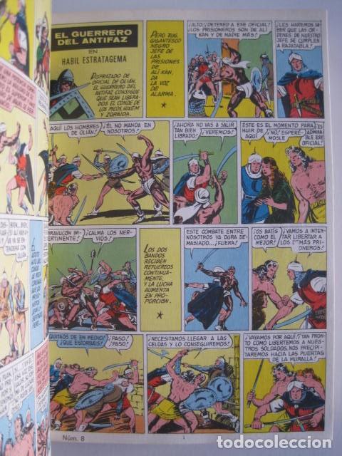 Tebeos: CÓMICS EL GUERRERO DEL ANTIFAZ. COLECCIÓN COMPLETA. ED. VALENCIANA. PUBLICACIÓN JUVENIL. 1972. - Foto 16 - 225759665
