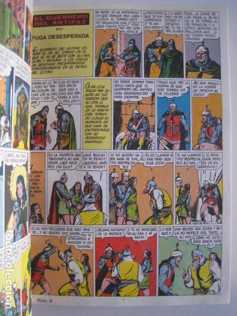 Tebeos: CÓMICS EL GUERRERO DEL ANTIFAZ. COLECCIÓN COMPLETA. ED. VALENCIANA. PUBLICACIÓN JUVENIL. 1972. - Foto 17 - 225759665