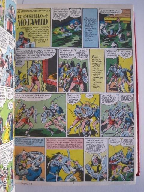 Tebeos: CÓMICS EL GUERRERO DEL ANTIFAZ. COLECCIÓN COMPLETA. ED. VALENCIANA. PUBLICACIÓN JUVENIL. 1972. - Foto 20 - 225759665