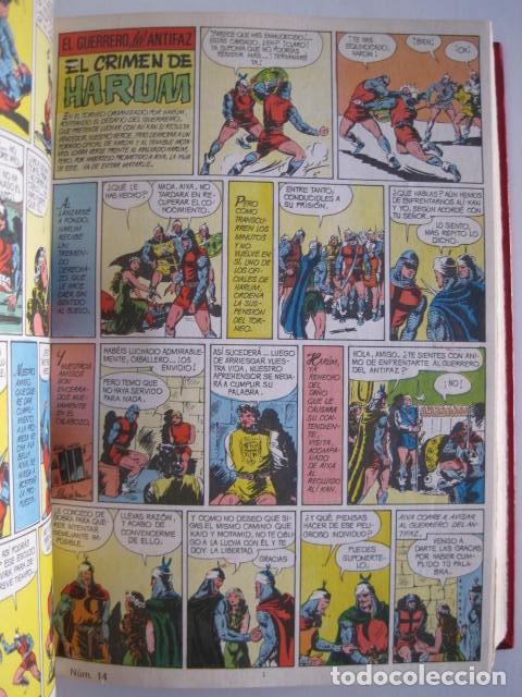 Tebeos: CÓMICS EL GUERRERO DEL ANTIFAZ. COLECCIÓN COMPLETA. ED. VALENCIANA. PUBLICACIÓN JUVENIL. 1972. - Foto 23 - 225759665