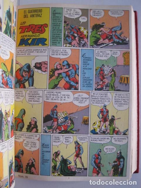 Tebeos: CÓMICS EL GUERRERO DEL ANTIFAZ. COLECCIÓN COMPLETA. ED. VALENCIANA. PUBLICACIÓN JUVENIL. 1972. - Foto 24 - 225759665