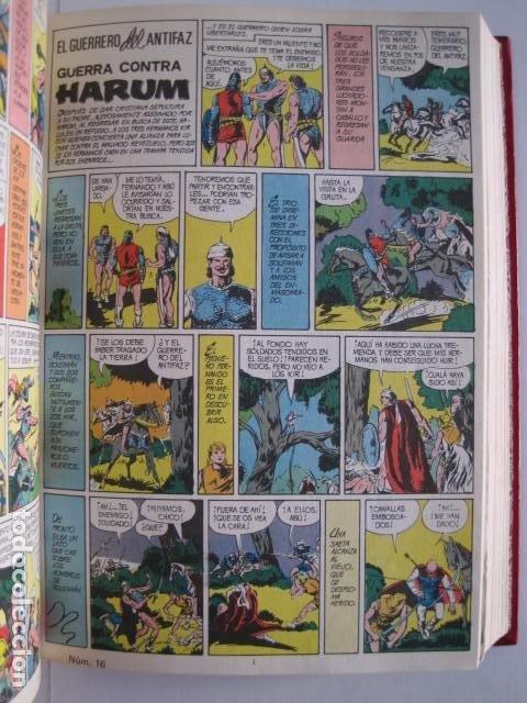 Tebeos: CÓMICS EL GUERRERO DEL ANTIFAZ. COLECCIÓN COMPLETA. ED. VALENCIANA. PUBLICACIÓN JUVENIL. 1972. - Foto 25 - 225759665