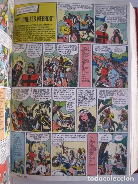 Tebeos: CÓMICS EL GUERRERO DEL ANTIFAZ. COLECCIÓN COMPLETA. ED. VALENCIANA. PUBLICACIÓN JUVENIL. 1972. - Foto 27 - 225759665