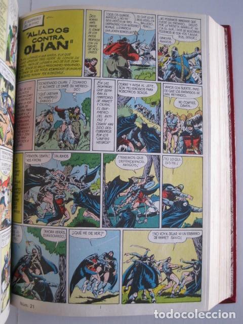 Tebeos: CÓMICS EL GUERRERO DEL ANTIFAZ. COLECCIÓN COMPLETA. ED. VALENCIANA. PUBLICACIÓN JUVENIL. 1972. - Foto 31 - 225759665