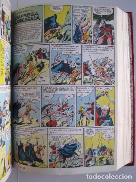Tebeos: CÓMICS EL GUERRERO DEL ANTIFAZ. COLECCIÓN COMPLETA. ED. VALENCIANA. PUBLICACIÓN JUVENIL. 1972. - Foto 32 - 225759665