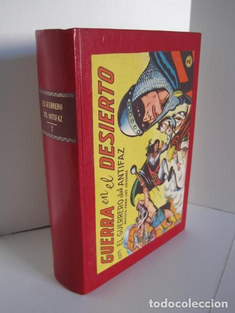 Tebeos: CÓMICS EL GUERRERO DEL ANTIFAZ. COLECCIÓN COMPLETA. ED. VALENCIANA. PUBLICACIÓN JUVENIL. 1972. - Foto 35 - 225759665