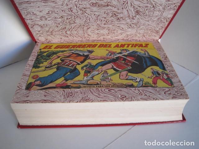 Tebeos: CÓMICS EL GUERRERO DEL ANTIFAZ. COLECCIÓN COMPLETA. ED. VALENCIANA. PUBLICACIÓN JUVENIL. 1972. - Foto 41 - 225759665